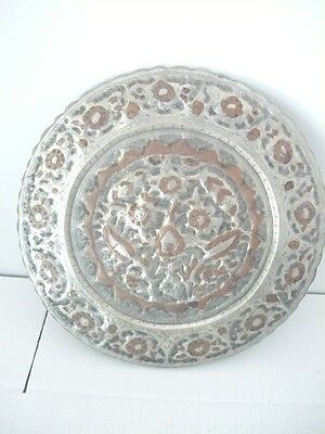 Decorative Plate copper Embossed and handcrafted
