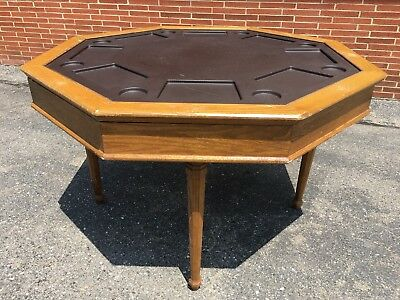 "Poker Table Plus Other Games 48""x48"" *Local Pickup*"