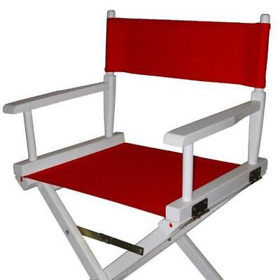 Casual Home Director Chair Replacement Canvas, Red