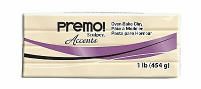 Sculpey Premo Polymer Art Clay Accents, 1-Pound, Translucent
