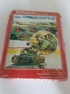New Factory Sealed With Crushed Box Armor Battle For Intellivision H7
