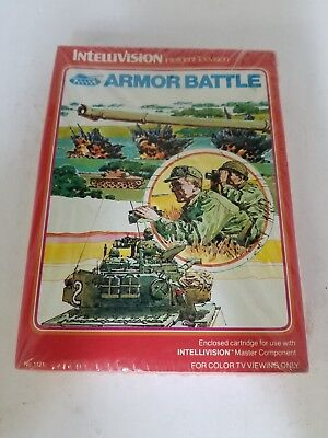 New Factory Sealed With Creased Box Armor Battle For Intellivision H11
