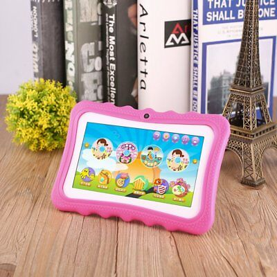 """7"""" Tablet PC for Education Kids Children Android 4.4 Quad Core 8GB Camera Lot QW"""