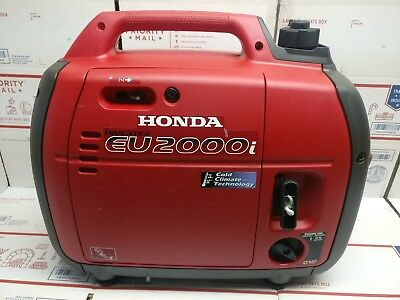 Honda EU2000i Gas Inverter Generator - UNDER 1 HR OF RUN TIME