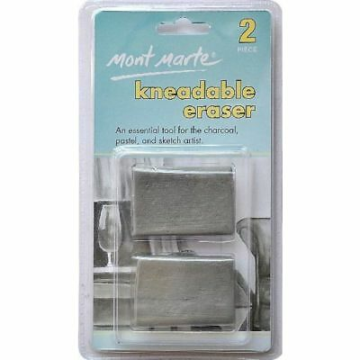 Kneadable Erasers 2pce Essencial for Charcoal Pastels Sketch Artist
