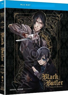 Black Butler: Book of the Atlantic (Bluray, 2018) No DVD No Dig Code No Slipcovr