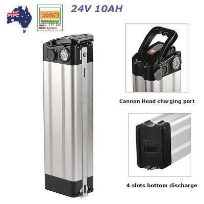 X-GO 24V 10AH Li-ion Lithium Battery Pack for 200W Electric Bicycles E-Bike AU