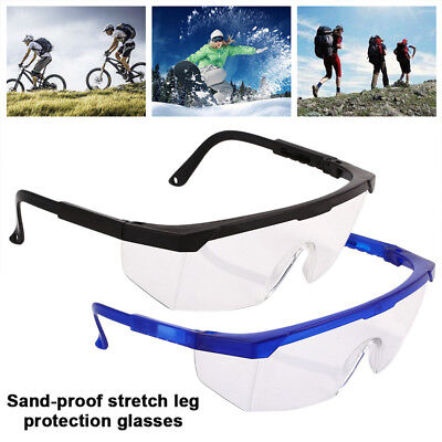 Durable Safety Glasses Eyewear Flexible Anti-Fog Cover Protector Camping Sport