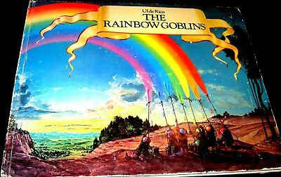 THE RAINBOW GOBLINS by Ul De Rico  STATED FIRST HC ILLUSTRATED-(1978, Hardcover)