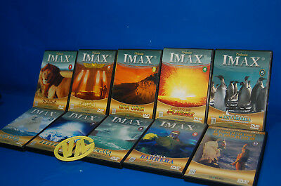 Pelicula DOCUMENTAL 10 dvds coleccion IMAX-buen estado