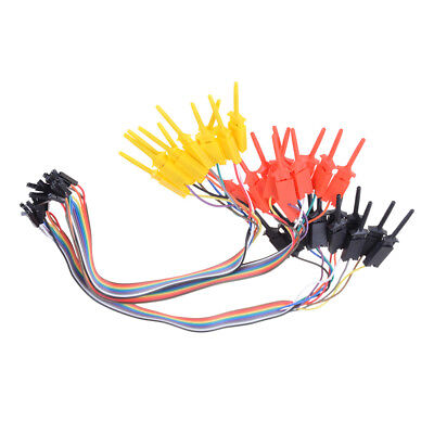 TEST IC Hook Test Clip Logic Analyzer CABLE Gripper Probe Project 0I