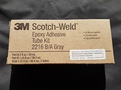 3M Scotch-Weld Epoxy Adhesive Tube Kit 2216 B/A Gray