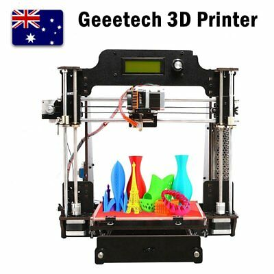 GEEETECH 3D Printer Prusa I3 Pro W Wood DIY Auto leveling High Precision BN
