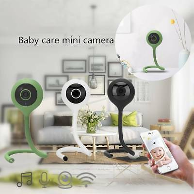 720P Baby Monitor Wireless Digital Audio Video Camera Security IR Night Vision