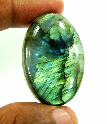 85.00 Ct Beautiful Natural Cabochon Labradorite Loose Gemstone Stone - 10291