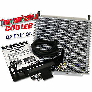 """PWR Trans Oil Cooler kit - Ford Falcon BA 280 x 255 x 19mm 3/8"""" barbed PWO6115"""