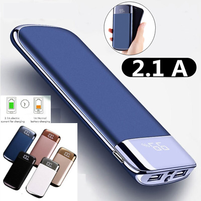 10000mAh Portable Power Bank External Battery Charger For Mobile Phone 2USB Port