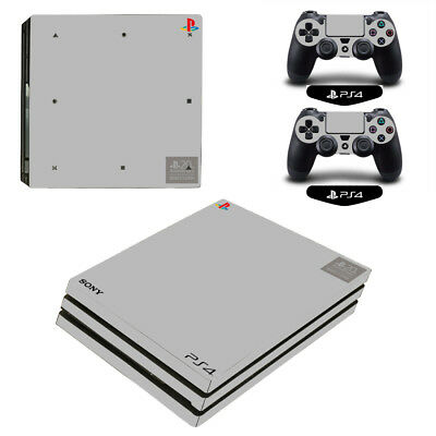 PS4 20th Style Vinyl Decal Skin Stickers for Sony PS4 Pro Console 2 Controllers