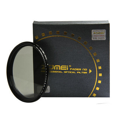 Zomei 72mm Slim Fader ND Filter Adjustable Variable Neutral Density ND2 to ND400