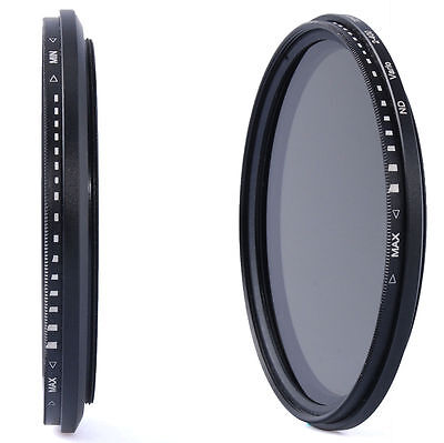 77mm Variable Neutral Density Fader ND Filter for Canon 700D 600D 70D 60D LF28