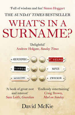 David McKie - What's in a Surname? (Paperback) 9780099558941