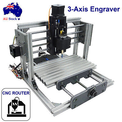 3 Axis Mini DIY CNC Router 2417 Wood Carving Engraving Machine Cutter Engraver