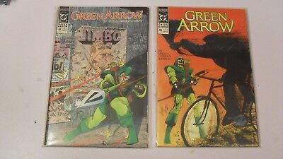 Green Arrow #41-50 (1988) By Mike Grell and others DC Comics Black Canary