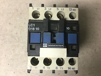 Telemecanique LC1 D1810 Contactor With 240 Volt Coil