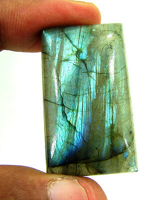 73.80 Ct Beautiful Natural Cabochon Labradorite Loose Gemstone Stone - 10071