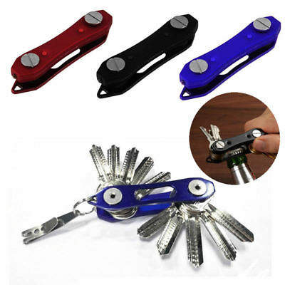 Portable Compact Key Ring Smart Holder Keys Organizer Clip Chain Pocket Tool