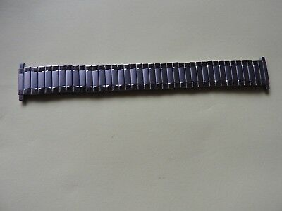 NEW OLD STOCK SPEIDEL 16-22mm  FLEXI-EXPANDING STAINLESS STEEL WATCH STRAP