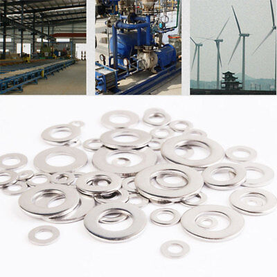 Gasket Metal Washer Practical Portable Stainless Steel 105pcs