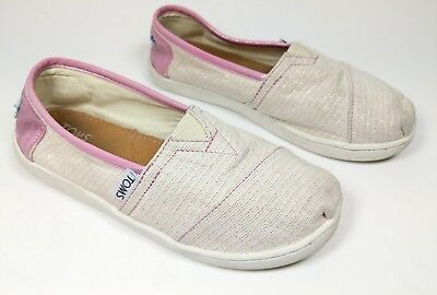Toms girls fabric shoes trainers size 1