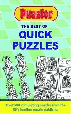 The Best of Quick Puzzles: Puzzler - Very Good Book Puzzler Media