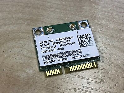 Sony Vaio SVE151 SVE171 SVF15A SVF152 WiFi Wireless Card AR5B225 BCM943142HM