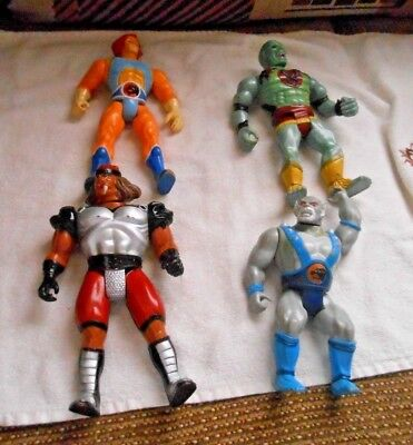 Vintage Thundercats Lot Of Four Figures See Descr