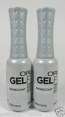 34110 - (2) Orly Gel FX - Base Coat .3oz - Brand New