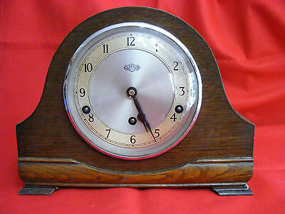 Garrard & Co Mantle Clock London 1930's Art Nouveau,Art Deco,Vintage,