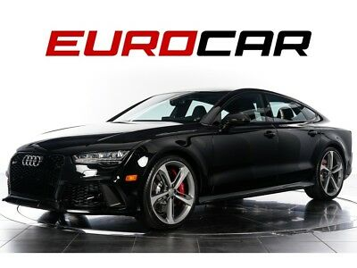 2017 Audi RS7 4.0T quattro 2017 Audi RS7 4.0T quattro - HIGHLY-OPTIONED, CARBON OPTIC PACKAGE + MORE!