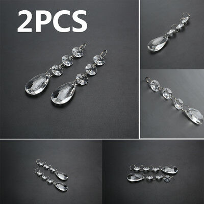 Hanging Crystal Garland Strand Durable Practical Transparent Acrylic Gift
