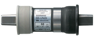 Shimano UN26 68 x 117.5mm Square Taper English Bottom Bracket