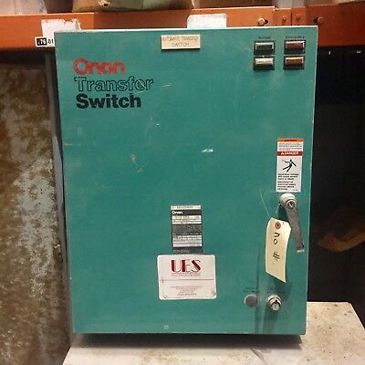 Onan Automatic Transfer Switch 125 Amp, 277/480 Volt, 3 Phase.