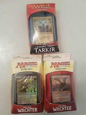 Magic the gathering Intro Pack Set sammlung