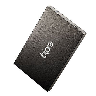Bipra 160Gb 160 Gb 2.5 Inch External Hard Drive Portable Usb 2.0 - Black - Fat32