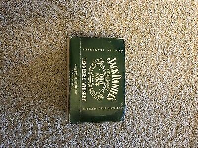 Jack Daniels Mini Old No. 7 90 Proof Vintage 10 Pack Box 1960's