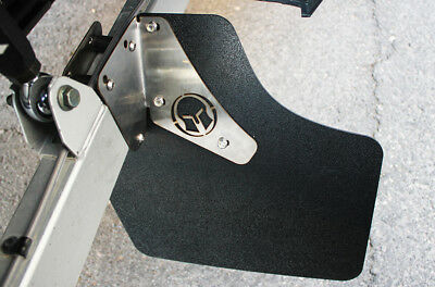 2 Pc Polaris RZR 1000XP + Maverick X3 Trail Arm Rock Protection Guards Mud Flaps