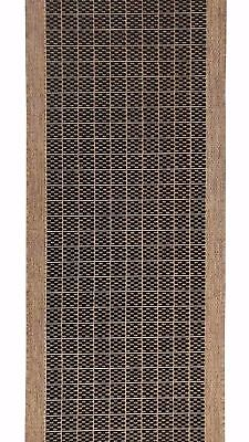 New Hall Rug HALLWAY RUNNER Carpet SUVA MOS Rubber Back 67cm by the metre 17_112