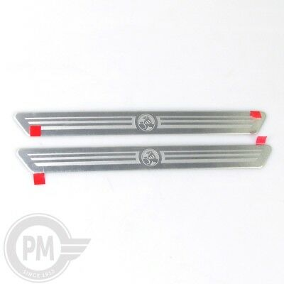 Holden BL BK Astra Front Sill Scuff Plates Holden Emblem *NEW* *GENUINE*