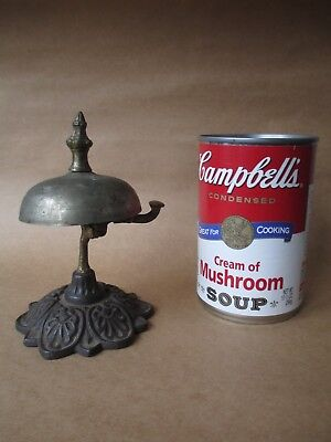 antique Victorian HOTEL - TABLE diner BELL interesting MECHANICAL devise 1800's
