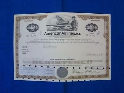 Stock Cerf.: American Airlines, Inc, Punch Cancel (S10060)
